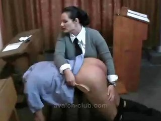 Strict Madam Charlotte Spanks Her Naughty Pupil And Then Drtuber