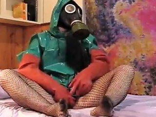 Gasmask Rainwear Girl Free Latex Porn Video 33 Xhamster