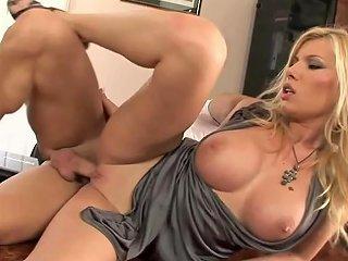 Rich Beautiful Blonde Babe Fucking With A Handyman Porn F0