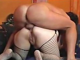 Plumper Bbw German Babe With Big Tits Gets Ass Fucked And Facialized