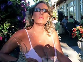 The Hottest Amateur Cougar Mature MILF 51 Nice Cleavage