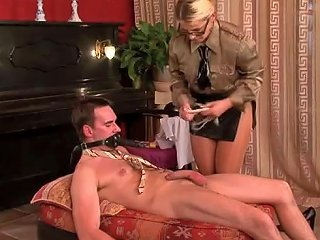 Piano Student Gets Punished By Naughty Teacher