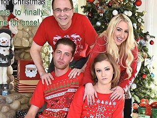 Riley Mae In Heathenous Family Holiday Card Familystrokes Txxx Com