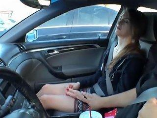 Terra Hypnotized In The Car