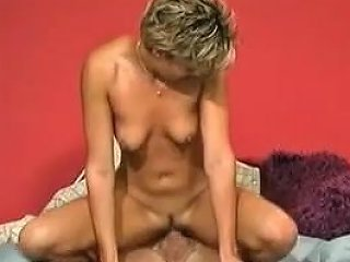 Hot Short Haired Milf Rides Old Cock For Hubby Porn F1