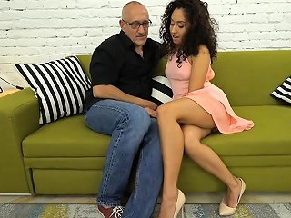 Grandpa Dicks A Hot Tiny Mexican Teen In Her Wet Pussy Drtuber