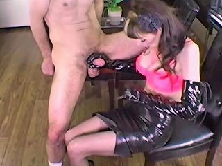 Shanda Fay Jerks Off Hard Cock With Latex Gloves Porn 1d
