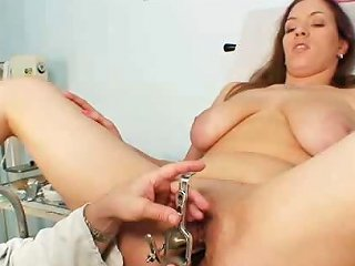 Fetish Busty Andrea Pussy Speculum Examination Andrea Drtuber