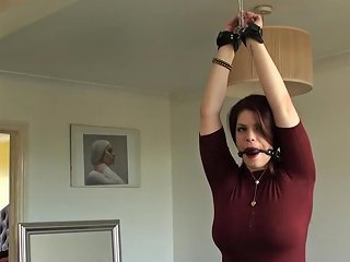 Busty Redhead Sub Clamped And Facefucked Txxx Com