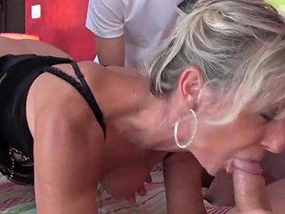 Gorgeous Milf Gets Gangbanged Free Amateur Porn Video E7