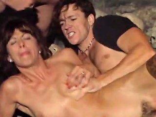 Beautiful Women Dungeon Sex Free Threesome Porn Video 16