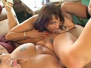 Horny Mature Women In One Hot Pussy Eating Fest