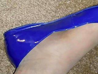 Pantyhose And Flats Bbc Footjob Shoejob Long Version