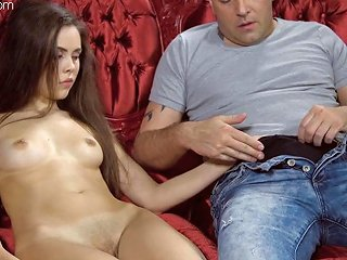 Anastasia Seymour Grabs Cock For The First Time And