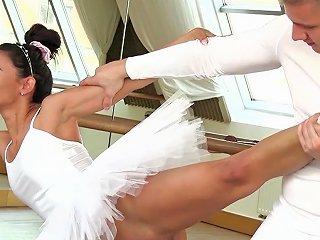 Sensual Ballerina Rides And Sucks Cock In Perfect Modes