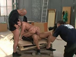 Behind The Scenes Of Mmf Threesome Fucking For Andy Brown