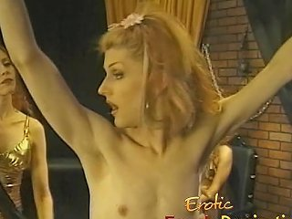 Crossdresser Enjoys A Very Painful Flogging Session In