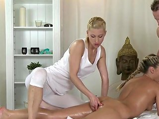 Mff Massage Makes Him Cum Twice Free Hd Porn 35 Xhamster