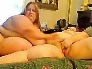 Horny Fat Obese Lesbians Playing With Each Other 2