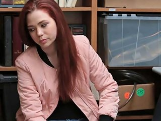 Redhead Teen Shoplifter Caught And Fucked By Security Porn Videos
