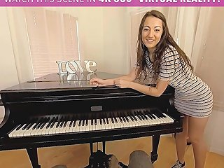 Horny Student Fucks Her Piano Teacher