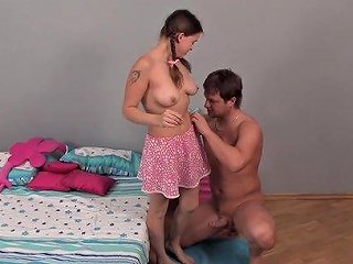 Cutie With Braids Petty Going Down On Her Lustful Sex Partner