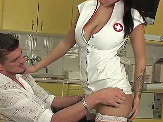 Patient Wont Relax So Good Dentist Sucks His Dick To Calm Him Down