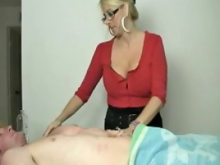 Slut Need Some Jizz Lotion On Her Fingers To Loosen Up Her