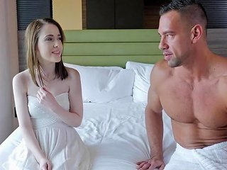 Pornpros Tiny Pale Alice Merchesi Fits Big Dick In Pussy