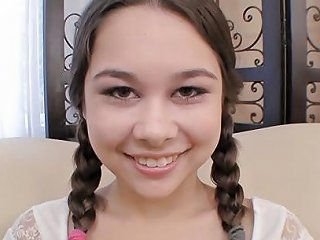 Pigtailed Teen Kira Sinn Eagerly Taking Cum Facial Porn Ab