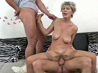 Hairy Mature Mother Sandwiched By Two Sons Free Hd Porn 56