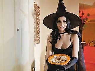 Young Wife Gets Some New Dick On Halloween Free Hd Porn 5e