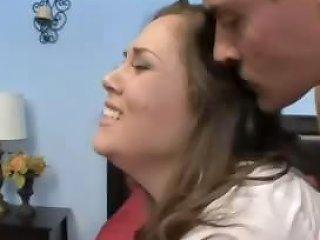 Hot Cheerleader Kristina Fuck And Facial