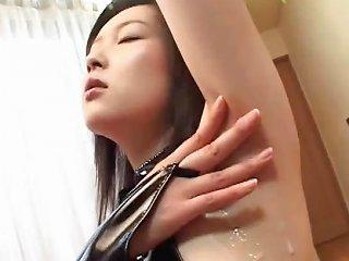 Asian Girl Gets Naked And Shows Where She Got Jizzed On Drtuber
