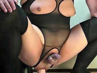 Prostate Milking And Finishing With A Pink Dildo Mar 30 2015