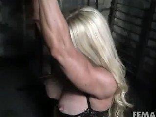 Female Bodybuilder In Chains In The Dungeon Free Porn 85