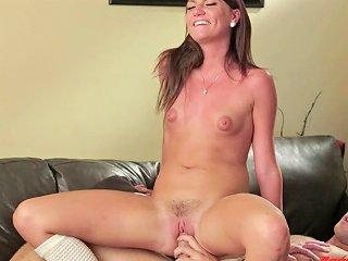 A Cutie With Puffy Nipples Gets Her Ass Fingered And Pussy Fucked