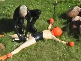 Outdoor Bondage Breathplay