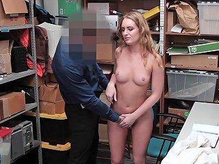 Shoplifter Gets Hers