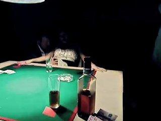 Poker Gangbang With Asian Slut