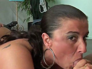 Mature Mom With Big Tits And Ass Is Getting Fucked Hard