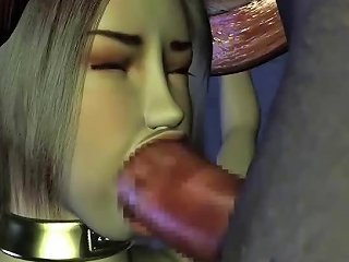 3d Animated Girl With Big Tits Gets A Monster Cock Pounding
