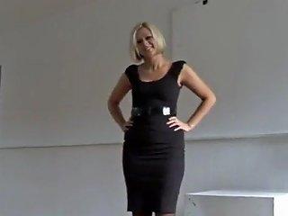 Amazing Blonde Slaps Strokes A Cock Txxx Com