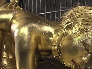 Chained And Fuck In Gold Cosplayinjapan Txxx Com