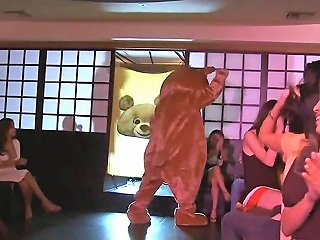 Dancing Bear Has A Bunch Of Bitches To Fuck With