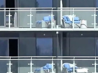 Dildo On The Balcony