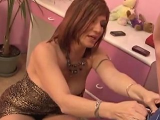 Skanky Redhead Milf Fucks Daughters Boyfriend Free Porn Fa