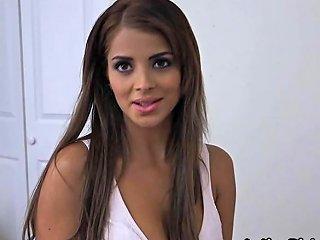 Latina GF In G Strings Demands Proper Dicking