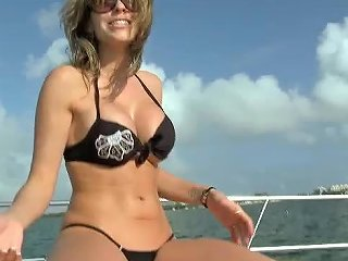 Hot Anal Sex With The Babe Courtney Cummz In A Boat