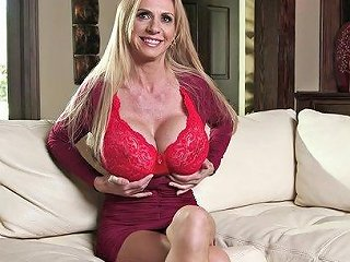 Milfs With Big Tits Do Topless Interviews On The Set